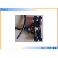 Copper Collector Conductor Rail System PVC Housing For 4 Conductors Manufactures