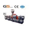 Caco3 Filler Masterbatch Machine Double Screw Extruder Machine Manufactures