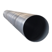 600mm Diameter Drainage Steel Pipe SSAW Spiral Welded Steel Line Pipe And Oil Pipeline Manufactures