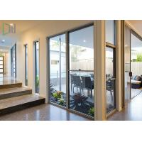 Contemporary Aluminium Vertical Sliding Windows With Balance Mechanism Manufactures