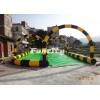0.6mm PVC Tarpaulin Inflatable Sport Games Colorful Used for Zorb Game Manufactures
