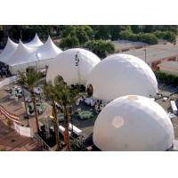 Buy cheap Big Geodesic Dome Tent For Events Wedding Party Advertising Big Dome Tent , Large Event Tents from wholesalers
