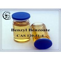 CAS 120-51-4 Injectable Anabolic Steroids Solvents Medical Grade Benzyl Benzoate Manufactures