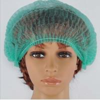Quality Disposable sugical Non-woven Mob cap with clip back 18,21,24,28'' for sale