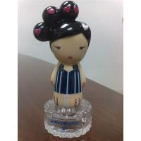 Glass Perfume Bottle Rubber Bath Toys Cap 10cm Height / 4cm Diameter 9P Free PVC Manufactures