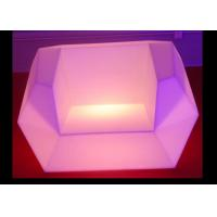 16 Colors LED Light Sofa 7.5V Rated With Rechargeable Lithium Battery Manufactures