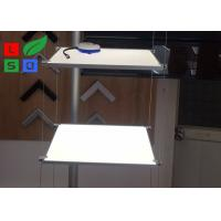Quality Suspension Type LED Shelf Lighting 100% Pure Acrylic With Steel Power Wire For Eyewear for sale
