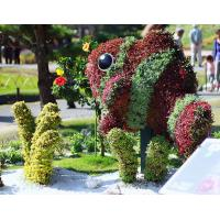 Outdoor Amazing Artificial Fish Topiary Fish Sculpture for Residential Area Park Facility Manufactures