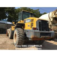 Komatsu Used Wheel Loaders Wa320-5 Front Payloader 3cbm Bucket Wheel Loaders Manufactures