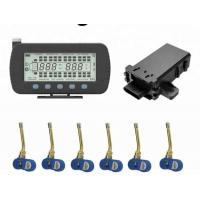 6 Wheel Truck Tire Pressure Monitoring System , Internal TPMS Monitoring System Manufactures
