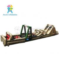 Outdoor Giant Military Ultimate challenge boot camp inflatable obstacle course for kids and adult Manufactures