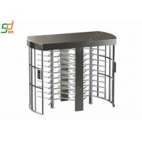 Security Full Height Turnstiles Card Access Rotor Turnstile Gate Manufactures