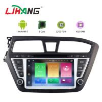Touch Screen Android 8.0 Hyundai Car DVD Player With Wifi BT GPS AUX Video Manufactures