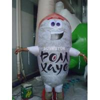 Shrimp Sushi Advertising Costumes With LOGO Printed , custom inflatable costumes Manufactures