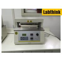 Aluminium Foil Heat Seal Tester / Testing Equipment With Two Heat Sealing Jaws Manufactures