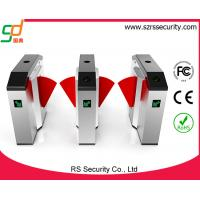 Automatic Card Security Arm Flap Barrier Gate Indoor / Outdoor , Brush Motor Manufactures