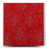 Anti Aging Decorative PVC Panels For Indoor Shining Fireworks Surface Manufactures