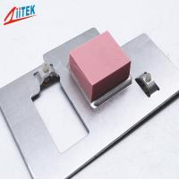 Soft 27shore00 Heat Sink Thermal Pad , High Conductivity Thermal Gap Filler Pad Manufactures