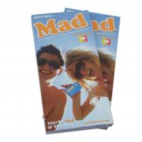 Customizable matte oil vanishing cheap Printing Trade Magazines with glue binding Manufactures
