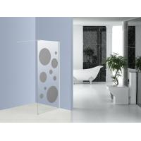 China Round Pattern Walk In Shower Units Shower Frameless Glass Enclosures on sale