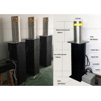 Fold Down Automatic Parking Posts Road Bollard With Led , Hydraulic Control Manufactures