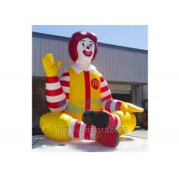 Promotional Inflatable Cartoon Characters , Inflatable McDonald Character Manufactures