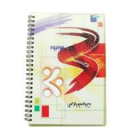 China PLASTICLENTICULAR 3d notebook lenticular stationery plastic lenticular pp pet moving effect cover notebook on sale