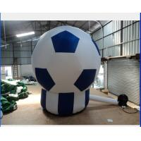 Soccer  Inflatable Advertising Products Fireproof PVC For Advertising Manufactures