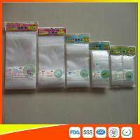 Resealable Clear Packing Ziplock Bags , Grip Seal Strong Ziplock Bags For Packing Manufactures