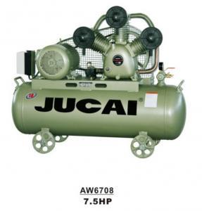 High Pressure Belt Driven Industrial Reciprocating Piston Air Compressor 7.5hp 5.5kw 150L Manufactures