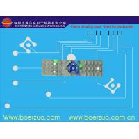 Embossed Buttons Tactile Membrane Switch And Panel With Metal Dome Manufactures