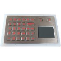 Vandalproof Waterproof Touchpad , Stainless Steel Rugged Tough Touchpad Industrial Manufactures