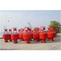 Inland River Steel Marine Mooring Buoys For Boat , 2070-2682mm Focal Height Manufactures