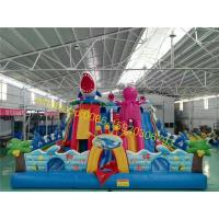 undersea world bouncy castle playground for kids Manufactures