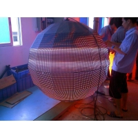 Full Color SMD2727 Spherical P4 Curved LED Screen Manufactures