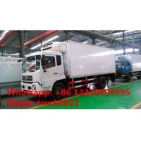 dongfeng tianjin 4*2 LHD Cummins 170hp/190hp diesel refrigerated truck for sale, hot sale dongfeng cold room truck Manufactures