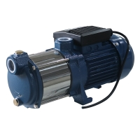 Horizontal 2M 0.45kw 0.6HP Multistage Centrifugal Pump SS316 Manufactures