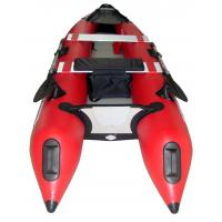 Summer Comfortable Inflatable Sea Kayak , 0.9mm PVC Inflatable Fishing Boats Manufactures