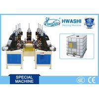 IBC Tank Cage Spot Welding Machine , Pipe Bage Auto Welding Machine Manufactures