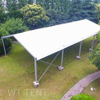 China 15x20 Clear Span Temporary Tent Buildings Waterproof For Uneven Ground on sale