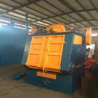 ZGMn13 Tumble Shot Blasting Machine For Small Castings Structural Manufactures