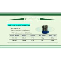 China Angle Tube Adaptor with 10°Tilt  stainless steel  tube clamp φ30mm fixed on sale