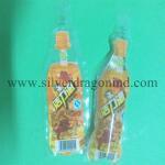 150ml Plastic drink bag with Bottle shape Manufactures