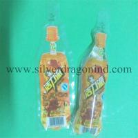 150ml Plastic drink bag with Bottle shape Manufactures