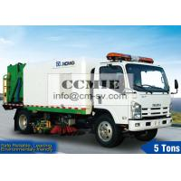 3.5m Sweeping Width Street Cleaning Equipment for Rinsing And Sewage Recovery Manufactures
