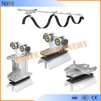 Ball Bearing Cable Trolley Wire Rope Roller For Festoon System Max.Speed 120m/min Manufactures