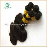 Hand tied weaviing Malaysian virgin remy hair,body wave hair extension no shed no tangle Manufactures