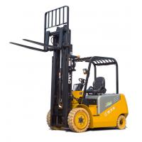 Solid Tyre 3T Uploading Electric Battery Forklift Truck , 3000mm Lifting Height Manufactures
