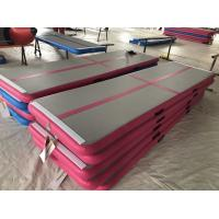 High Quality Durable Cheap inflatable air tumble gymnastic track Manufactures