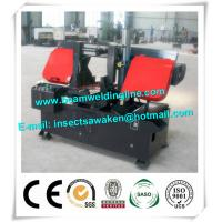 Quality Emi Auto CNC Plasma Metal Cutting Bandsaw Machine Double Housing for sale